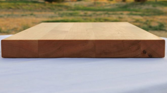12x16 Maple Wood Cutting Board - wFREE Board Butter!