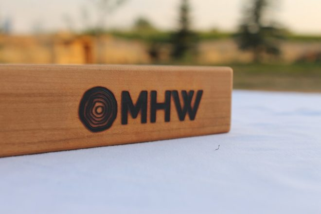 12x20 Cherry Wood Cutting Board - wFREE Board Butter!