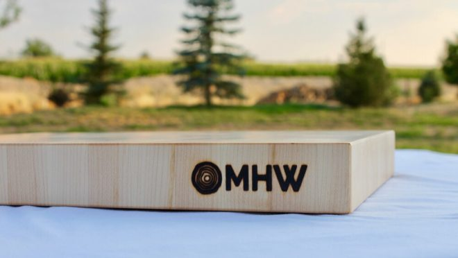 12x20 Maple End Grain Wood Butcher Block - wFREE Board Butter!