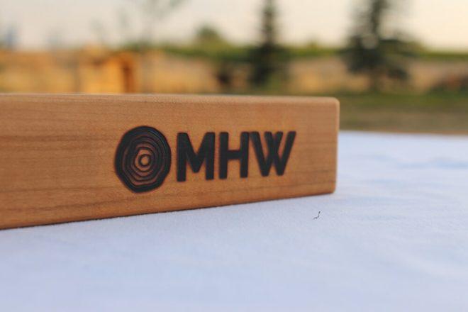 14x20 Cherry Wood Cutting Board - wFREE Board Butter!