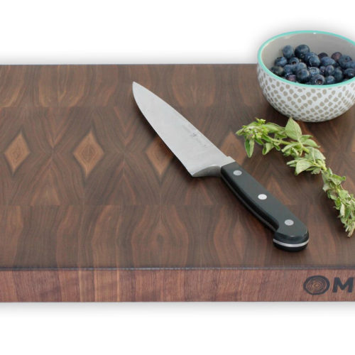 14x24x1.5 Thick Walnut End Grain Butcher Block - wFREE Board Butter!