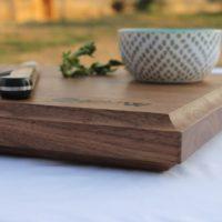 14x24x1.5 Thick Walnut Wood Cutting Board - wFREE Board Butter!