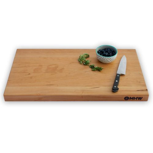 18x20 Cherry Wood Cutting Board - wFREE Board Butter!