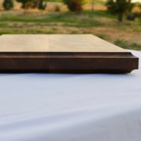 18x20x1.5 Thick Walnut Wood Cutting Board - wFREE Board Butter!