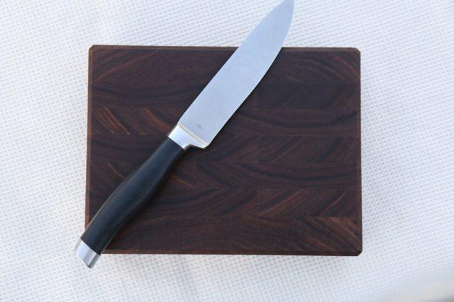 Custom 8x6 Walnut End Grain Cutting Board